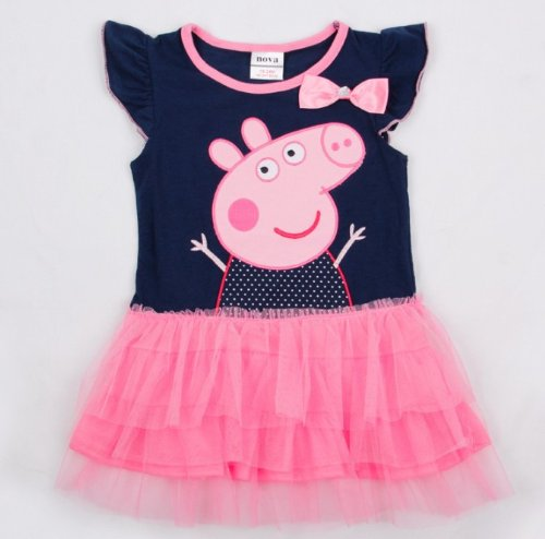Peppa Pig Girl S Dress Fashion Clothing Kids Cartoon Wear