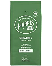 Harris Organic Ground Coffee, 200 g
