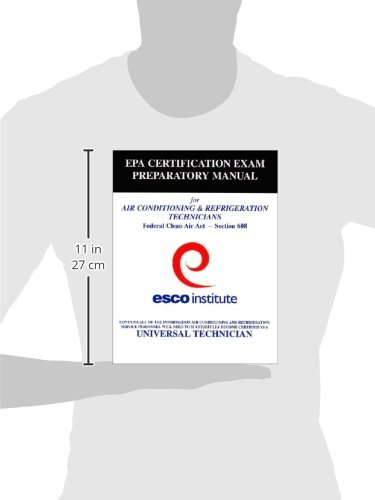 Esco Institute Section 608 Certification Exam Preparatory