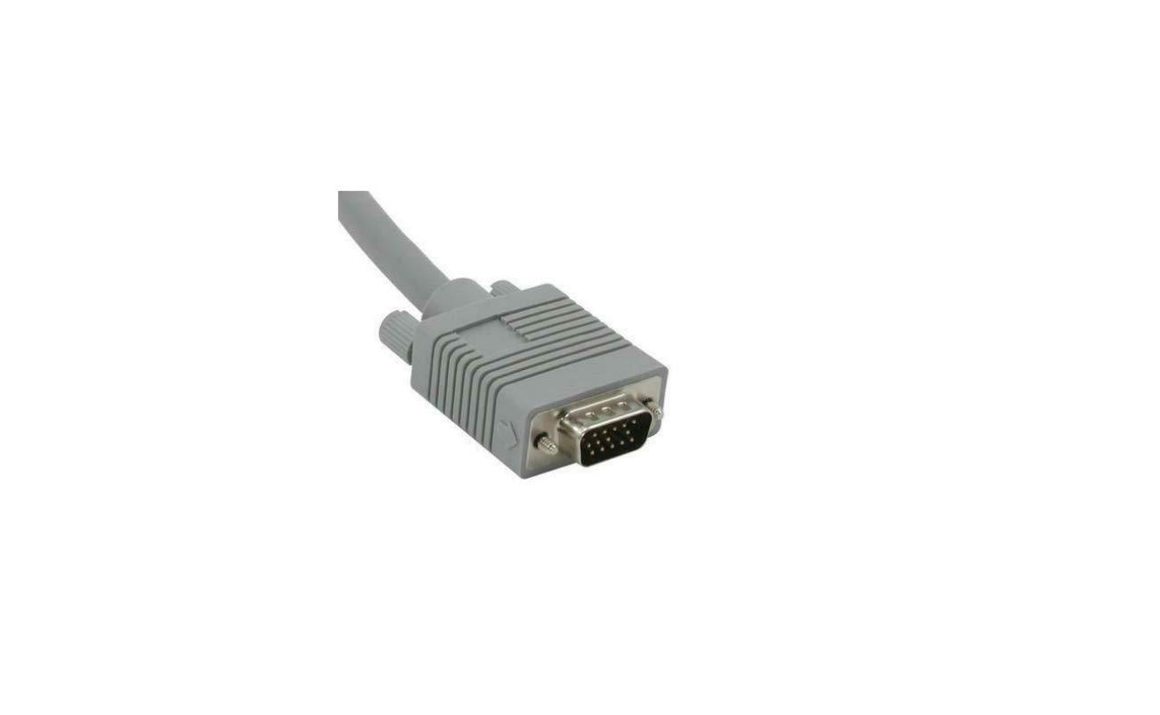 Northreps 35570 125ft Premium Shielded HD15 M//M SXGA Monitor Cable