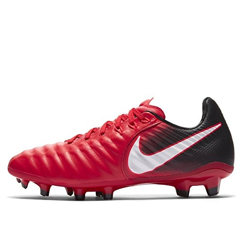 (Nike Junior Tiempo Legend VII FG Football Boots 897728 Soccer Cleats (UK 5.5 us 6Y EU 38.5, University red White Black 616))