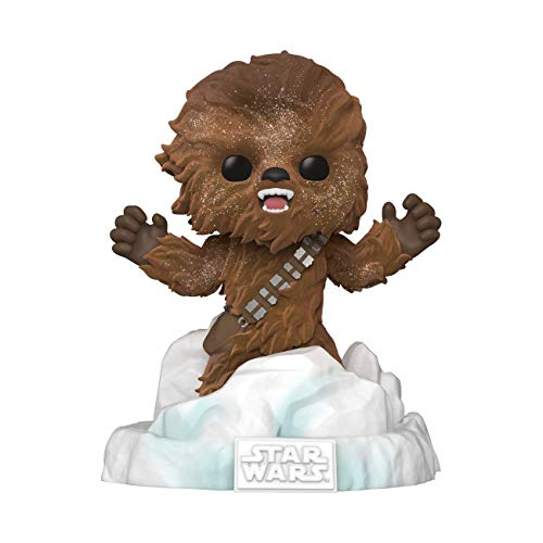 Funko- Pop Deluxe Star Wars-Chewbacca Exclusive Figura Coleccionable, Multicolor (49755)