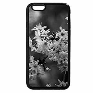 iPhone 6S Case, iPhone 6 Case (Black & White) - BLOSSOMS