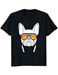 Cool Music DJ French Bulldog T-Shirt for Dog Lovers