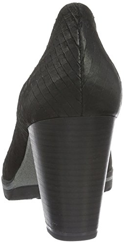 Marco Tozzi Premio 22421, Zapatos de Tacón para Mujer Negro (BLACK ANTIC 002)
