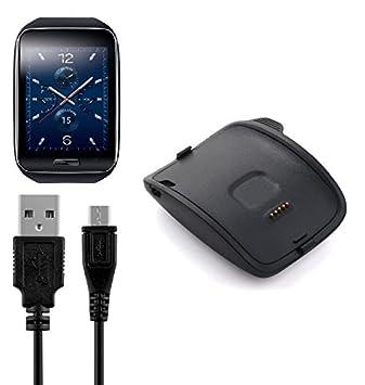 BlueBeach® Reemplazo USB carga cable cargador Dock para Samsung ...