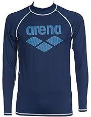 ARENA herr Arena Herren Sonnenschutz Langarm Shirt Rash UV-tröja
