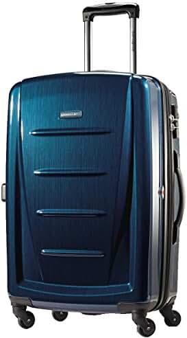 Samsonite Winfield 2 Fashion 28 Spinner (Deep Blue, 28-inch Exp)