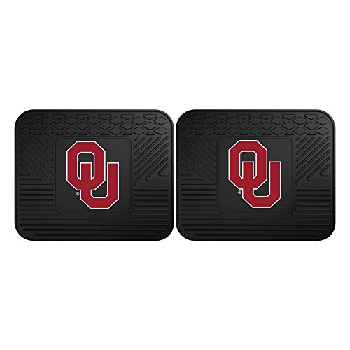 FANMATS 12294 University of Oklahoma Utility Mat - 2 Piece