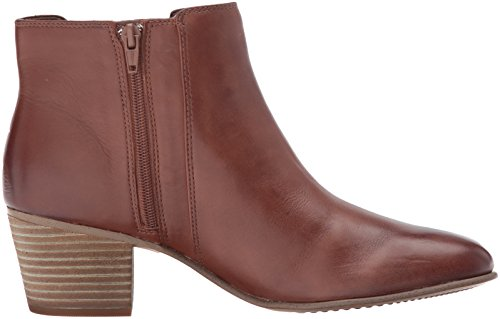Tan Tulsa Leather Women's Dark Maypearl Bootie Ankle Clarks q7YZRWw