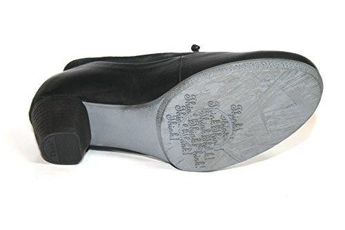 Think! - Zapatos de vestir de Piel para mujer - negro (SZ/KOMBI 09)