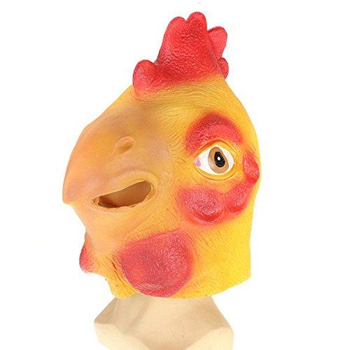 PhilMat Cabeza máscara polla animales espeluznante de ...