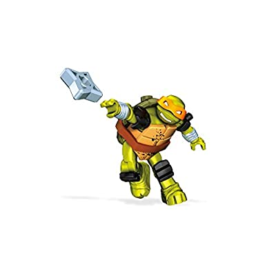 Mega Construx Teenage Mutant Ninja Turtles Mikey Stealth Building Kit: Toys & Games