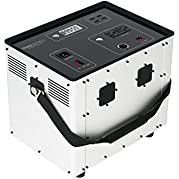 Portable Solar Generator for Camping, Hunting, RV, Off Grid, .64 kWh Solar Kit by Humless