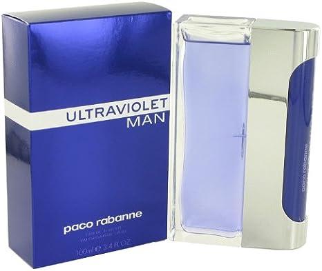 Colonia Ultravioleta de Paco Rabanne 3,4 oz Eau de Toilette Spray para Hombre – 100% Authentic: Amazon.es: Electrónica