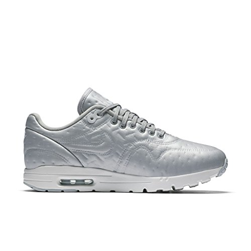 Nike Womens Air Max 1 Jcrd Running Trainers 819808 Sneakers Scarpe Argento Metallizzato / Argento Opaco