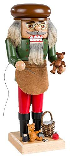 KWO Nutcracker Teddy Bear Maker, 25 cm (German Kwo Nutcracker)