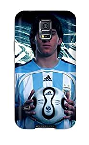 KtEAygZ13300zZZND Faddish Lionel Messi T Shirt Case Cover For Galaxy S5