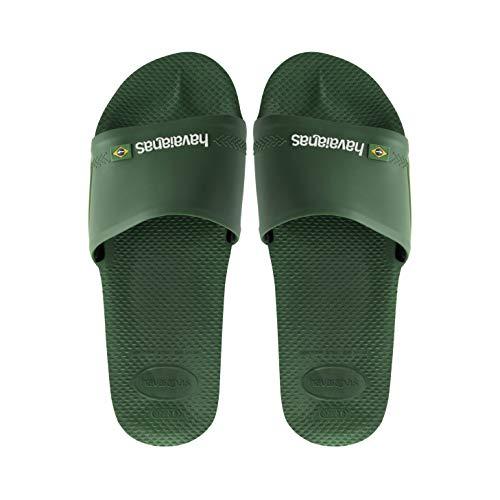 Adulto Verde Con Brasil Slide Abierta Sandalias Unisex Havaianas amazonia Para Punta xzpCfwB8q