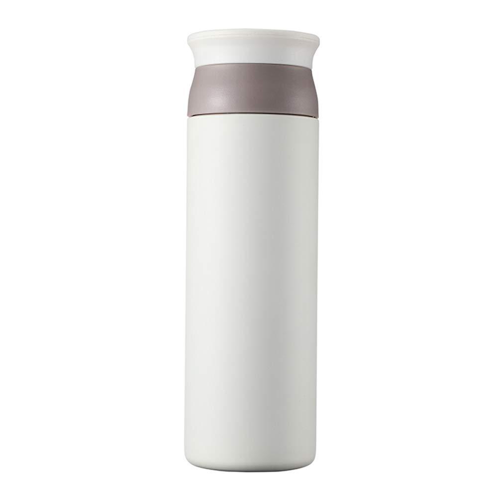 Sportflasche Isolier Becher Thermo Becher Travel Mug Kaffeebecher Wasserflasche Trinkbehälter Trinkflaschen-Leichte Und Tragbare Mode Mit Hoher Kapazität JINRONG