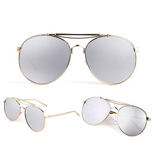 libre sol Gafas neutral definición alta al moda Color polarizadas Espejo de aire 07 de sol de Protección Gafas de al ZHIRONG UV 07 conducción aire la solar de libre protección de TdgwTq