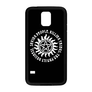 LeonardCustom Durable TPU Rubber Silicon Cover Case for Samsung Galaxy S5, Supernatural LCS5U42 by mcsharks