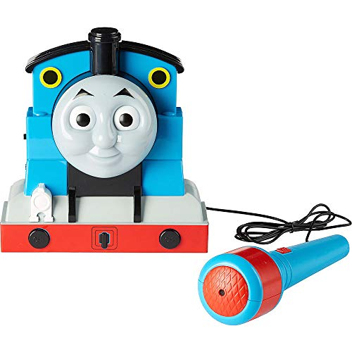 Electronic Toys for Christmas Holiday and Birthdays. Thomas The Train Sing-a-Long Karaoke Boombox 6in x 6 3/4in | with 1x pcs Goo, Putty & Slime Toy Gift ()