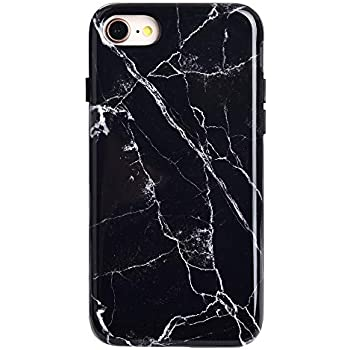 Amazon Com Black Marble Iphone 8 Plus Case Iphone 7 Plus