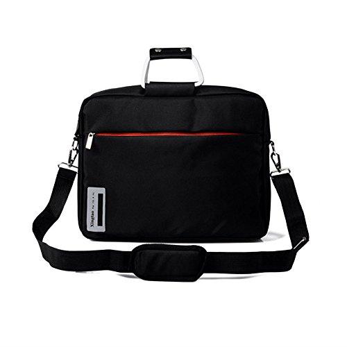 Wewod Shoulder Messenger Bag 12-inch / 14-inch aluminum ring Laptop bag (14 Zoll)