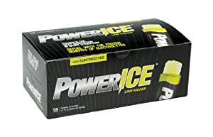 PowerICE Enhanced Frozen Hydrator,Lime, 18 Count