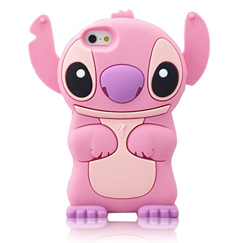 Cover Animal - iPhone 6 6S Plus Case, Phenix-Color 3D Cute Cartoon Animal Soft Slim Gel Rubber Skin Cover for Apple iPhone 6 6s Plus 5.5 Inch (#1)