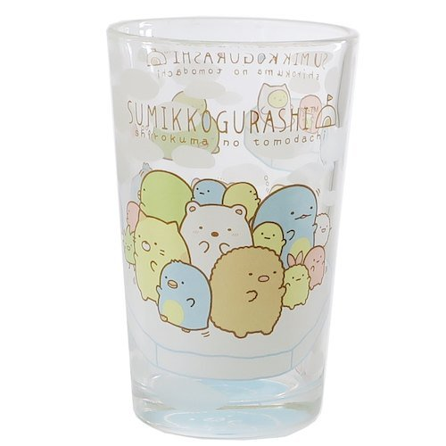 San-X Sumikko Gurashi Slim Glass Blue From Japan CSG2-SG-BL