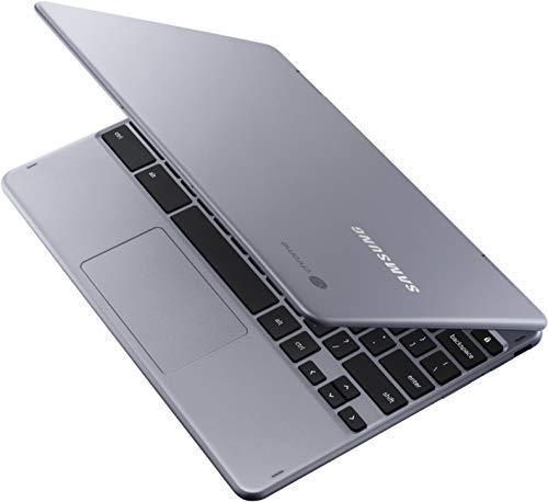 Samsung Chromebook Plus LTE XE525QBB-K01US 12.2 Inch Touchscreen Intel Celeron 3965Y 1.5GHz/ 4GB LPDDR3/ 32GB eMMC/ Chrome Notebook (Stealth Silver)