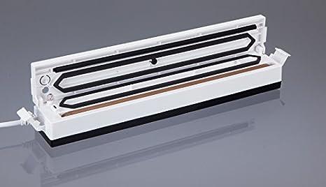 Jata EV102 Envasadora al vacío de tamaño Compacto, 100 W, 0 Decibelios, Blanco