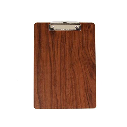 DYW Classic Folder Thickened Multi-Function A4 Clipboard Wooden Writing Board Clip Clipboard Can Hang Folder Expanding File Folder ()