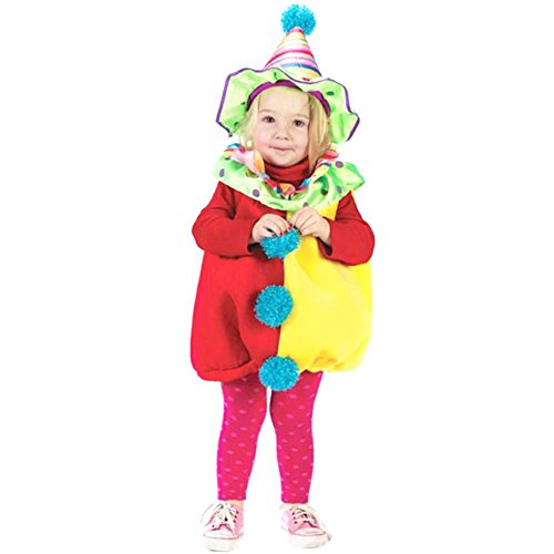 Child Clown Cutie Costumes (Child's Toddler Cutie Clown Costume (Size:)
