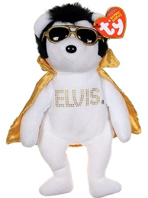 Buy TY Beanie Baby - TEDDY BEAR the Elvis Bear (Walgreen s Exclusive ... f23c0a432800