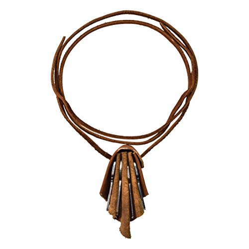 Price comparison product image Durable Leather Key Chain Necklace Handmade by Hide & Drink :: Swayze Suede