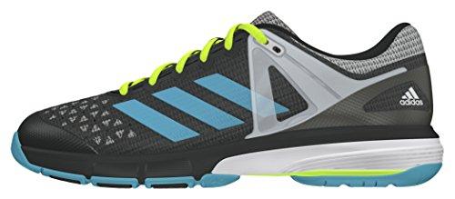 adidas Court Stabil 13 W, Zapatillas de Balonmano Para Mujer Negro (Grpudg / Azuvap / Ftwbla)