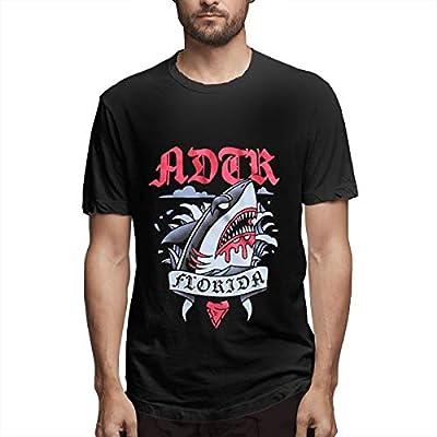 Lbuxinqu A Day to Reme-mber ADTR Shark Men's Fashion T-Shirt