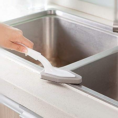 SEEKSUNG 1Pc la novedad de cocina utensilios de cocina Lavar la herramienta Pan Plato Tazón cepillo de limpieza cepillo de esponja: Amazon.es: Hogar