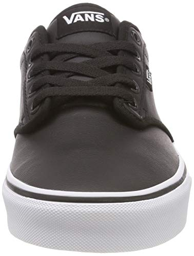 Tumble Synthetic Scarpe Uomo Atwood white Basse Vans Leather classic Ginnastica Nero Da U0m Black q5vxtFZw