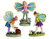 Assorted Resin Fairies - Set of 3