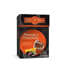 DUE TAZZE CAPSULAS - COFFEE   CHOCOLATE & ORANGE ESPRESSO