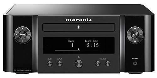 Marantz M-CR612 Network CD Receiver (2019 Model) | Wi-Fi, Bluetooth, AirPlay 2 & Heos Connectivity | AM/FM Tuner, CD Player, Unlimited Music Streaming | Compatible with Amazon Alexa | Black
