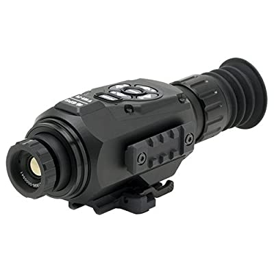 ATN ThOR-HD 384 2-8x, 384x288, 25 mm, Thermal Rifle Scope w/ High Res Video, WiFi, GPS, Image Stabilization, Range Finder, Ballistic Calculator and IOS