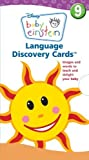 download ebook language discovery cards: images and words to teach and delight your baby (baby einstein (special formats)) by disney press (editor) (23-nov-2010) cards pdf epub