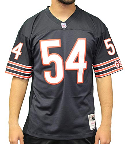 (Mitchell & Ness Brian Urlacher Chicago Bears Throwback Replica Jersey (Large))