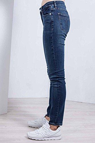 Dusty Alta Jeans Donna Taglia Slim 25 Klein Lavaggio Nero Vita A Calvin Ckj022 wBq8YnOxx
