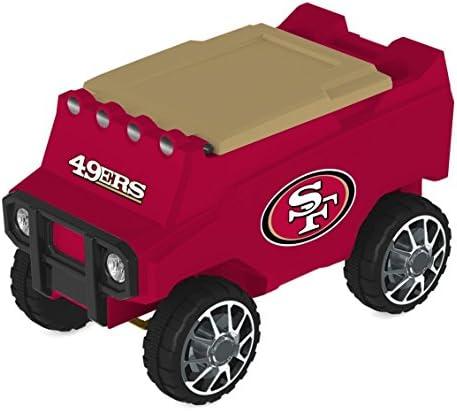 C3 SAN Francisco 49ERS RC Motorized NFL Cooler